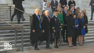 Download Watch President-elect Trump lay wreath at Arlington National Cemetery Video