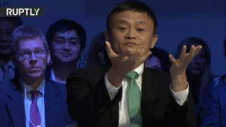 Download Nobody 'stealing' your jobs, you spend too much on wars - Alibaba founder to US Video