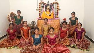 Download Ayigiri Nandini - Navadurgas singing Mahishasura Marddini Sthothram - 'Vande Guru Paramparaam' Video