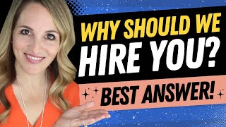 Download Why Should We Hire You Interview Question - BEST Sample Answer Video