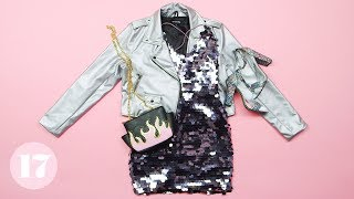 Download 5 Cute Ways to Wear a Sequin Dress | Style Lab Video