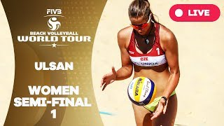 Download Ulsan 1-Star - 2018 FIVB Beach Volleyball World Tour - Women Semi Final 1 Video