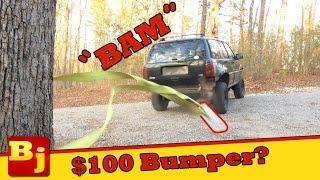 Download $100 Cheap Jeep Bumper Build - Operation Cheap Jeep Video