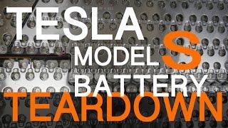 Download TESLA MODEL S BATTERY TEARDOWN Video