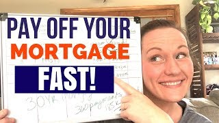 Download How to Pay Off Your Mortgage Early in 5-7 years! Using an Amortization Schedule! Video