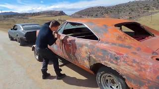 Download Abandoned 1968 charger general lee rescue, firebird, 66 mustang barnfind roadkill ratrod roadtrip! Video