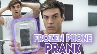 Download FROZE HIS PHONE IN ICE PRANK! Video