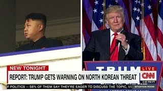 Download Warning for Trump: North Korea challenge Video