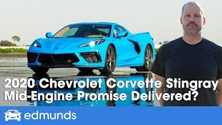 Download 2020 Corvette Stingray Review ― Test Drive of the New Corvette C8 Video