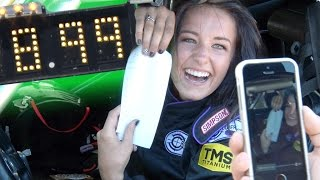 Download 18 Year Old's 8-SECOND Pass in TWIN TURBO Camaro!!! Video