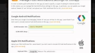 Download Send Push Notifications to your Android and iOS app users Video