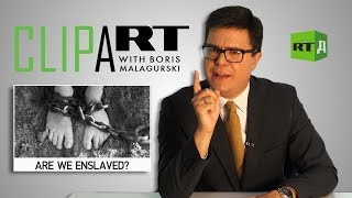 Download Clipart with Boris Malagurski: Are we enslaved? Video