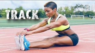 Download Track Workout | Sprints | HIIT | Leg & Booty Builder | Motivation| Track & Field Video