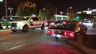 Download Highclass Car Club cruising Hollywood Blvd Video