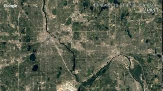 Download Google Timelapse: Minneapolis - St Paul, Minnesota Video