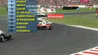 Download Michael Schumacher Charity karting event Highlights! Piquet gets Owned! FAIL Video