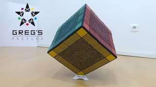 Download WORLD RECORD 33x33x33 RUBIK's CUBE !!!!! Video
