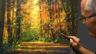 Download Master class Yushkevich Victor. ″Forest gamma″ We write acrylic. Artist - composer: Victor N. Video