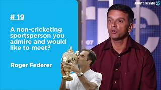 Download 25 Questions with Rahul Dravid | 'I'd pick Tendulkar to bat for my life' Video
