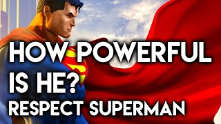Download How Powerful Is He? RESPECT: Superman Video