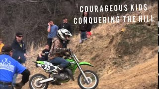 Download 2014 Courageous Kids Conquering the Logan Motorcycle Hill Climb Video