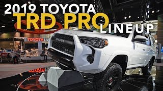 Download 2019 Toyota Tacoma, Tundra and 4Runner TRD Pro - 2018 Chicago Auto Show Video