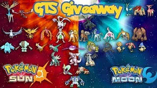 Download Pokémon Sun/Moon & Ultra GTS Giveaway - All Shiny Legendary Pokémon! | ROUND 10 | The End Is Coming Video