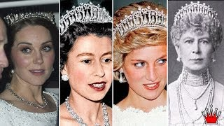 Download How Royals Recycle Tiara As Kate And Camilla Both Wear Historic Tiaras To Glittering Palace Dinner Video