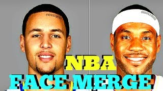 Download CAN YOU GUESS THESE MERGED NBA FACES? | NBA FACE MERGE CHALLENGE Video