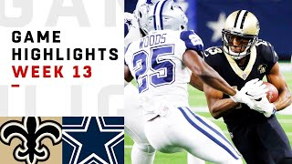 Download Saints vs. Cowboys Week 13 Highlights   NFL 2018 Video