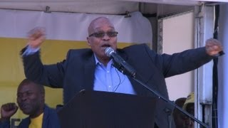 Download S. Africa's Zuma comes out swinging on election trail Video