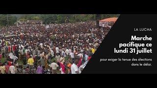 Download La LUCHA:Marche pacifique ce lundi 31 juillet pour exiger la tenue des élections dans le délai. Video