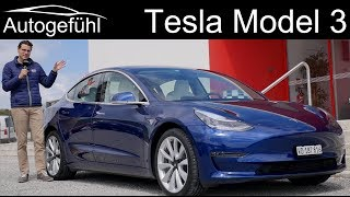 Download Tesla Model 3 FULL REVIEW Performance racetrack vs road driving test! Video
