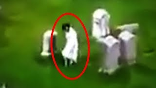 Download 13 Mysterious Graveyard Sightings Caught on Camera Video
