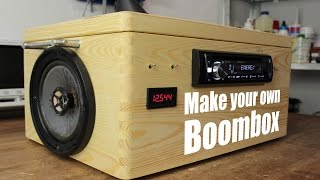 Download Make your own Boombox Video