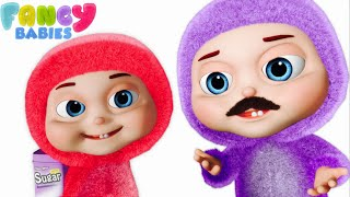 Download Johny Johny Yes Papa And More | Fancy Babies Nursery Rhymes & Zool Babies Fun Songs Video