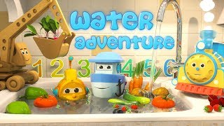 Download Learn to Count with Max the Glow Train and his Team | The Amazing Water Adventure Video