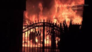 Download HISTORIC WHITE HOUSE RESTAURANT DESTROYED BY FIRE IN ANAHEIM Video