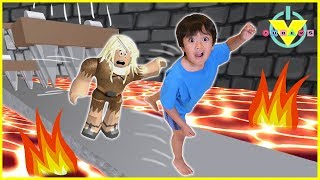 Download Vtubers Ryan Vs Daddy ROBLOX Let's Play Escape From Dungeon Video