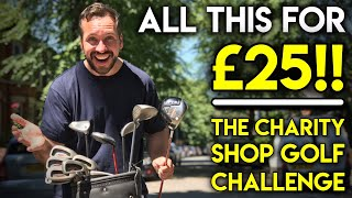 Download ALL THIS FOR £25!! 😲Charity Shop Golf Challenge Video