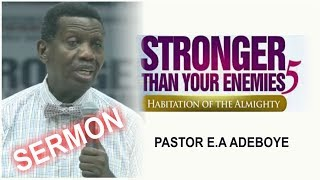 Download Pastor E.A Adeboye Sermon @ RCCG May 2018 HOLY GHOST SERVICE Video