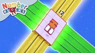 Download Numberblocks - Ride the Rays | Learn to Count Video