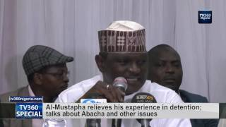 Download Al-Mustapha relieves his experience in detention; talks about Abacha and other issues Video