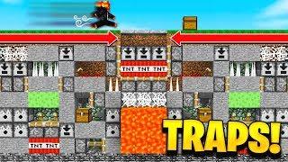 Download 100 MINECRAFT TRAPS vs PRESTONPLAYZ! Video