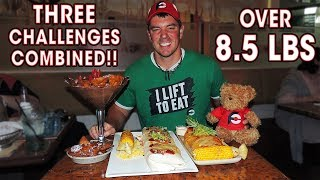 Download THREE Food Challenges in ONE Sitting?? (2 Burritos + Chocolate Nachos) Video