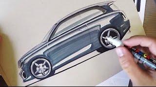 Download Industrial Design Sketching - Hatchback Side View Video