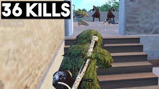 Download SNEAK ATTACK ON FULL SQUAD | 36 KILLS Duo vs Squad | PUBG Mobile Video