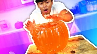 Download DIY How To Make GLOW IN THE DARK JELLO PUMPKIN! Video