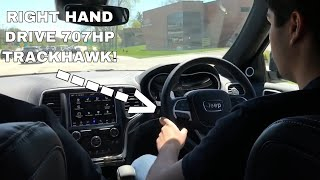 Download Driving the 707HP Jeep Trackhawk! Video