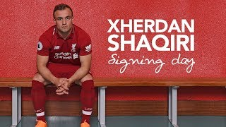 Download Shaqiri's first day at LFC | Exclusive behind-the-scenes access Video